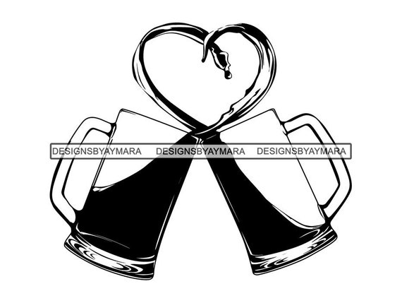 Heart Clipart Black and White - 67 cliparts