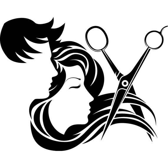 Hair Salon Accessories Barber Scissors Stylish Barbershop Etsy