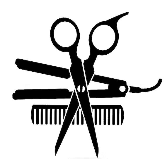 Salon Beauty Dryer Accessories Hair Shop Scissors Hairdresser Etsy