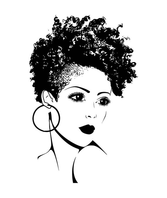 black woman diva queen unique african american lady nubian etsy