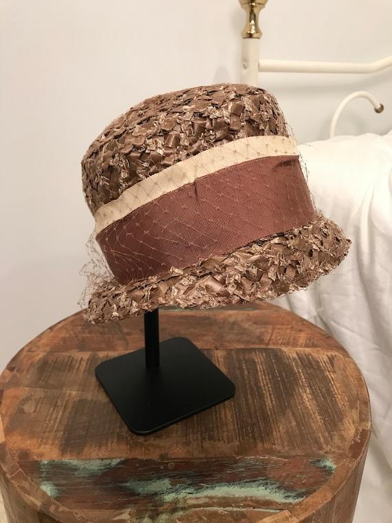 Mauve Pink Vintage 1950's Ladies Hat | Vintage Hat