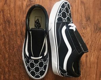 6bf33fbb34e0dd Custom VANS Gucci-inspiré (Gucci chaussures