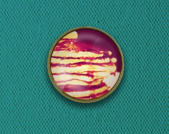Pancakes with Syrup Pin, Magnet, Keychain, or Necklace