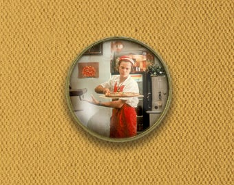 I Love You to Death Devo River Phoenix Pin, Magnet, Keychain, or Necklace