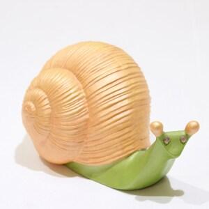 imperfections 6 x Vintage Snail Miniatures