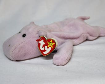 Ty Beanie Baby Happy the Hippo f82426d97a32