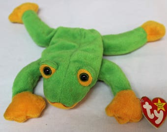 Ty Beanie Baby Smoochy the Frog