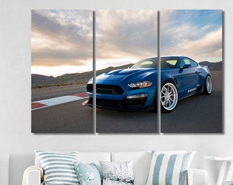 Ford Mustang Shelby art Shelby canvas Shelby decor Shelby photo Shelby poster Shelby print Shelby wall art Shelby wall decor Garage Decor