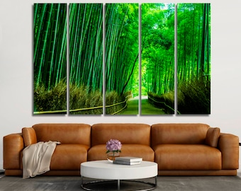 Bamboo Forest Wall Art Bamboo Forest Wall Decor Bamboo Forest Canvas Bamboo  Forest Print Bamboo Forest