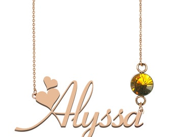 Womens Baby Foot Pendant Personalised Engraved Name Necklace Element Gift UK