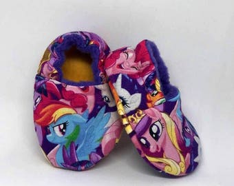 Soft Baby Shoes – My Little Pony