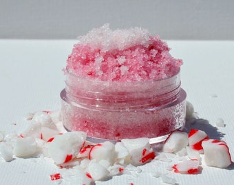 Lip Scrub | Candy Cane Lip Scrub | All Natural | Handmade