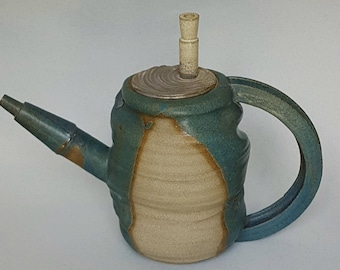 Turquoise tea pot, Ceramic tea pot, House warming gift, Ceramic teapot, clay teapot, stoneware teapot, Turquoise home decor, ceramic kettle