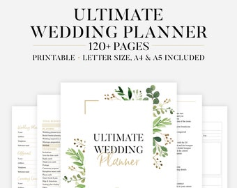 Wedding Checklist Etsy