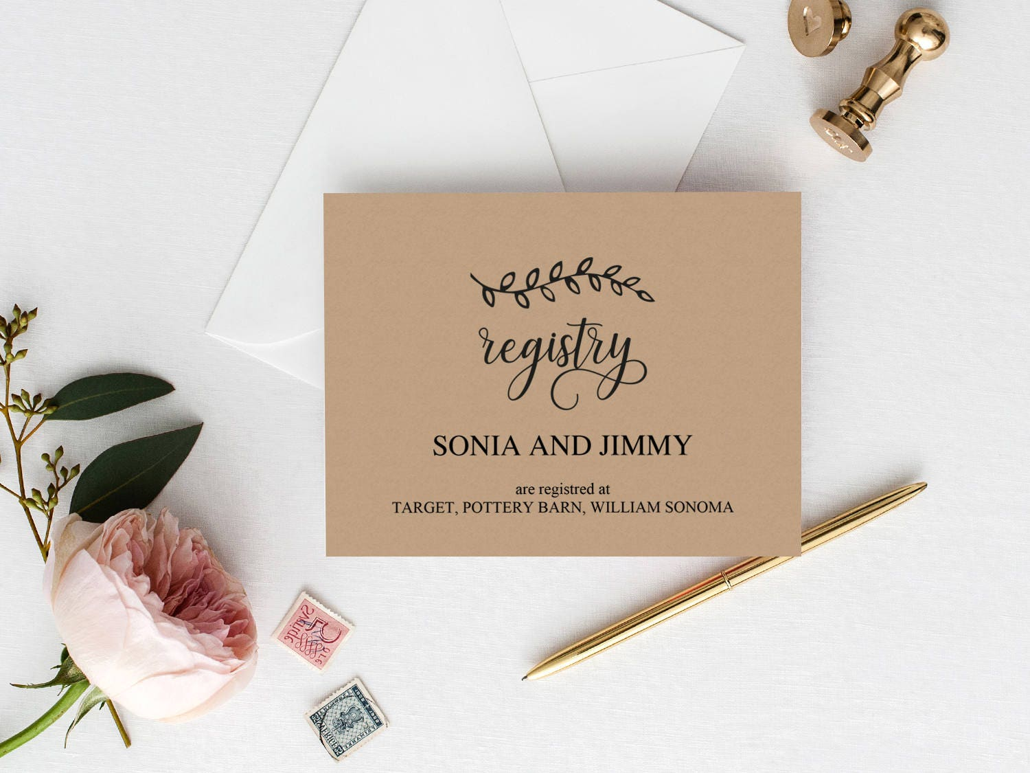 Wedding Gift Card Registry: Wedding Registry Cards Printable Wedding Gift Registry