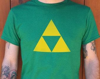 d3c0ebf41 Triforce Men's T-Shirt | Gaming | Gamer | Video Games | Unisex