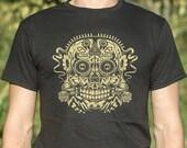 Ace of Dead Spades Day of the Dead Calavera Sugar Skull All Souls 39 Day Men 39 s Women 39 s T-Shirt Dia de los Muertos Halloween