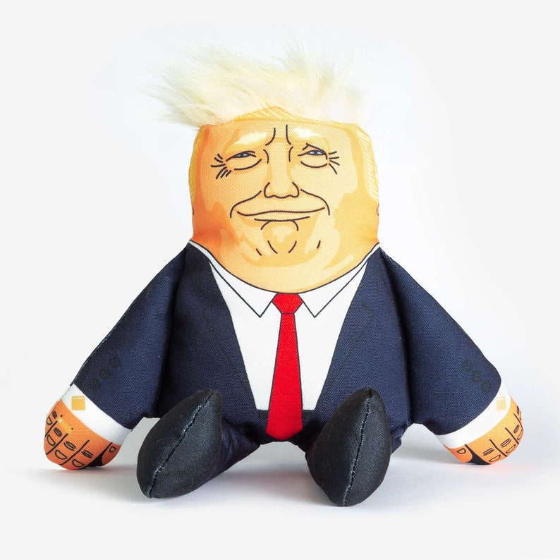 Donald Trump Pet Toy Bite Me Bone Political Dog Chew Toy Great Gift