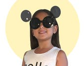 Gaga Mickey Flip-up Sunglasses