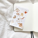 Comfy Winter Sticker Sheet // for your journals, planners, notebooks and more!