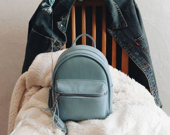 Faux Leather Backpack 1bcd250d73231