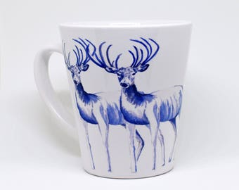 Three Deer Coffee Mug