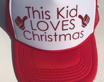 This Kid LOVES Chrismtas