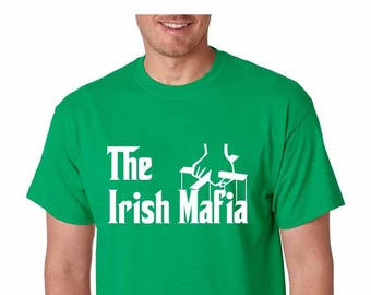 St. Patrick's Day The Irish Mafia Shirt