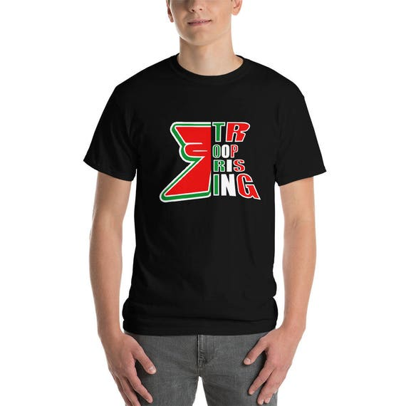 TR Troop Rising Tri Color Mex Edition Edition Short-Sleeve T-Shirt