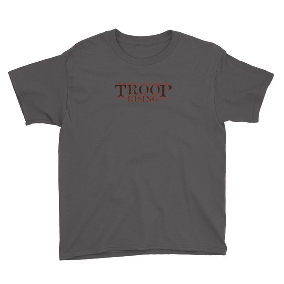 TR Troop Rising TR Things Edition Youth Short Sleeve T-Shirt