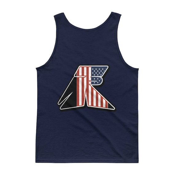 TR Troop Rising RWB Old Glory Edition Tank top