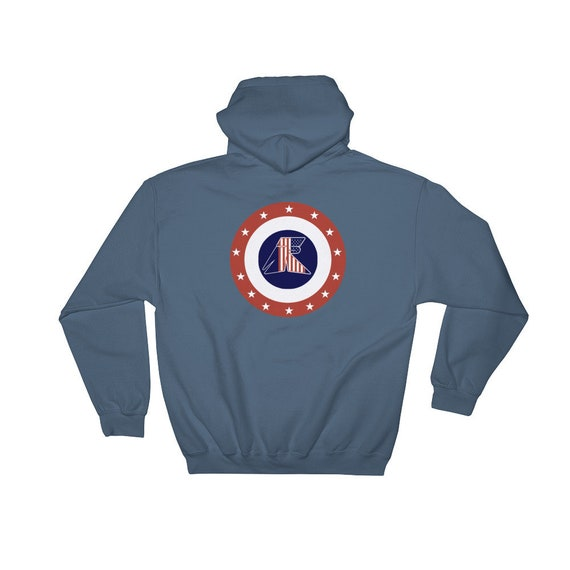 TR Troop Rising TR Freedom Shield Hooded Sweatshirt