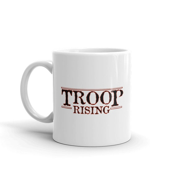 TR Troop Rising TR Things Edition Mug