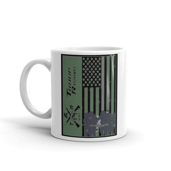 TR Troop Rising Corrections Officer Edition Mug