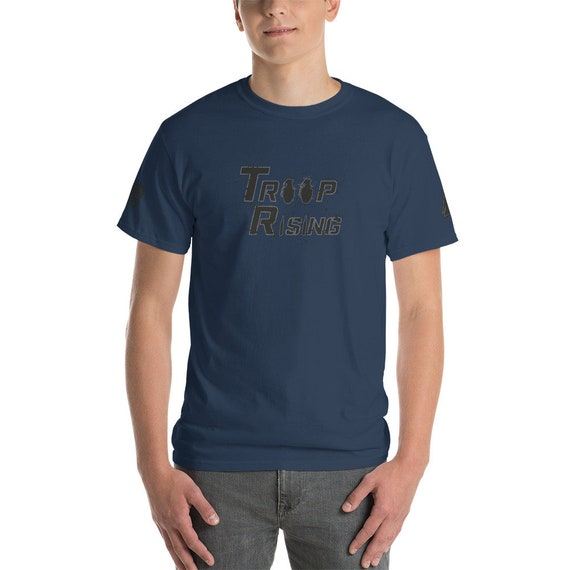TR Troop Rising Pineapple's and Rounds Edition Short-Sleeve T-Shirt