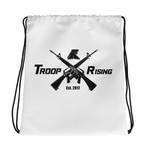 TR Troop Rising X-16's Edition Drawstring bag