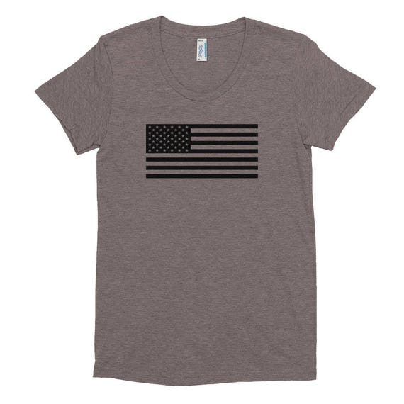 TR Troop Rising Old Glory Edition Women's Crew Neck T-shirt