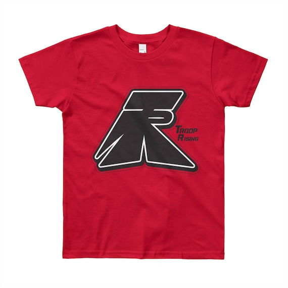 TR Troop Rising OG TR Youth Short Sleeve T-Shirt