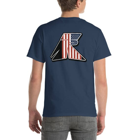 TR Troop Rising RWB Old Glory Short-Sleeve T-Shirt