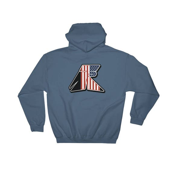 TR Troop Rising RWB Old Glory Edition Hooded Sweatshirt