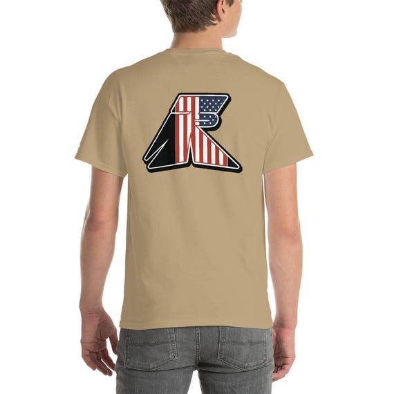 TR Troop Rising RWB Old Glory Edition Short-Sleeve T-Shirt