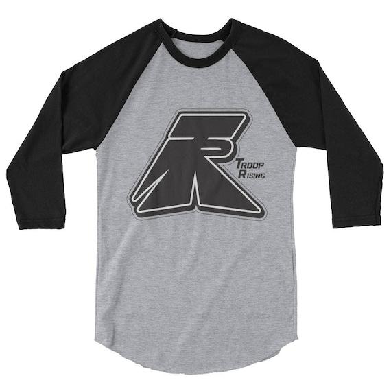 TR Troop Rising OG TR 3/4 sleeve raglan shirt