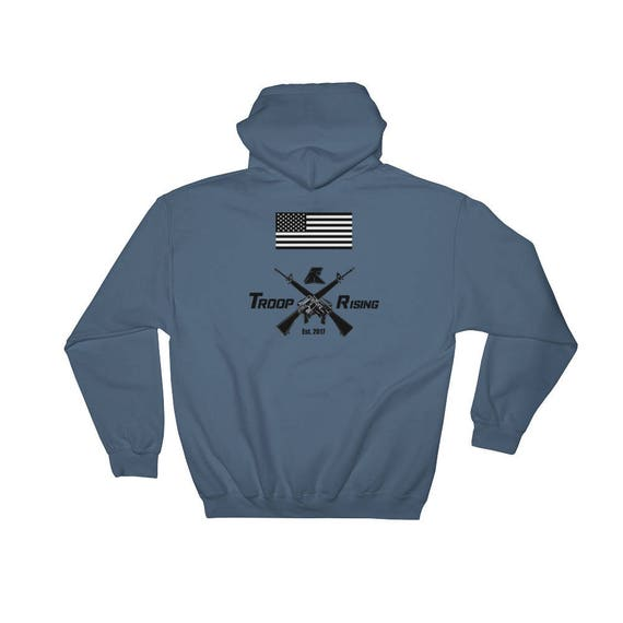 TR Troop Rising X-16's Edition Hooded Sweatshirt