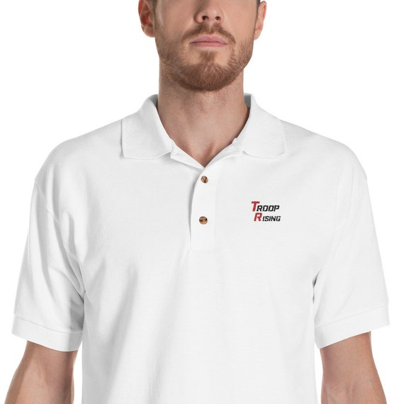 TR Troop Rising TR 2 Tracer Edition Embroidered Polo Shirt