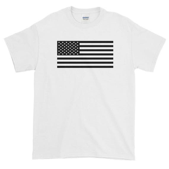 TR Troop Rising Old Glory Black Edition Short-Sleeve T-Shirt