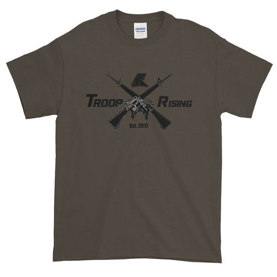 TR Troop Rising X-16's Edition Short-Sleeve T-Shirt