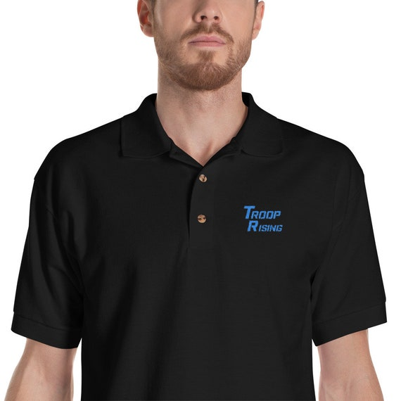 TR Troop Rising TR 2 H2O Edition Embroidered Polo Shirt