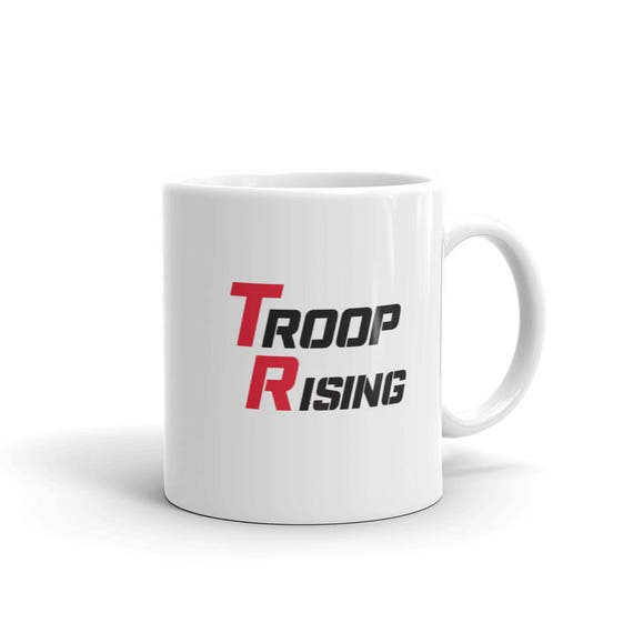 TR Troop Rising TR Tracer edition mug made in the USA