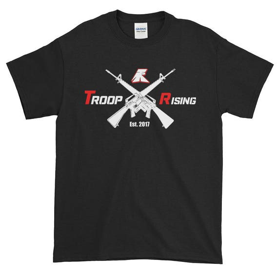 TR Troop Rising X-16's Tracer Edition Short-Sleeve T-Shirt