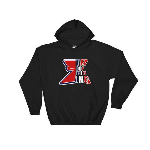 TR Troop Rising RWB Edition Hooded Sweatshirt